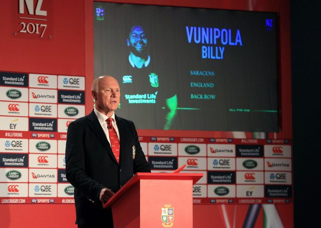 Seasoned traveller: Former British LIons, England and Headingley centre John Spencer, the current president of Wharfedale RUFC, was also the Lions tour manager for the 2017 trip to New Zealand and is against the famous side playing it's matches at 'home'. Picture:Adam Davy/PA Photo