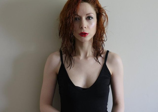 Catherine Anne Davies, aka The Anchoress. Picture:  Isabella Charlesworth