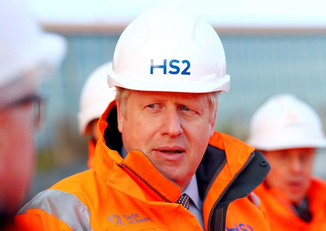 Boris Johnson and the Government gave their backing to HS2 a year ago.