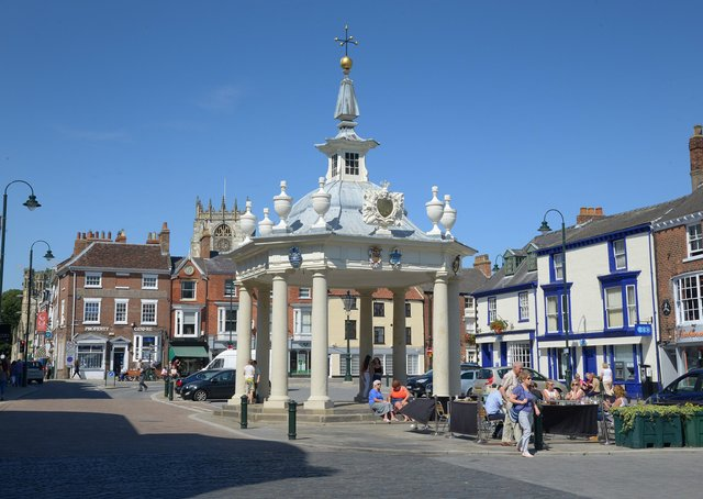 There are plans to part-pedestrianise Beverley's Saturday Market.