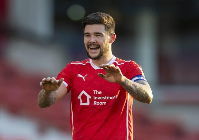 New contract on table: Alex Mowatt at the end of the game against Millwall. Picture: Tony Johnson