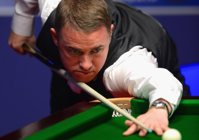 Back on cue: Stephen Hendry. Picture: Michael Regan/Getty Images