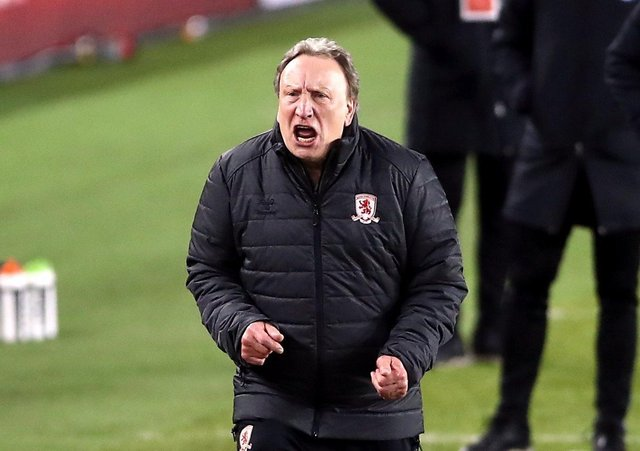 Middlesbrough manager Neil Warnock is frustrated at his side's current lack of firepower.. Picture: Tim Goode/PA