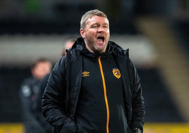 Hull City boss Grant McCann. Picture: Bruce Rollinson