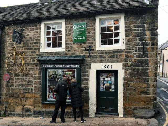 The shop building dates back to 1661