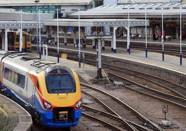 Rail services between Sheffield and Manchester Airport are under review.