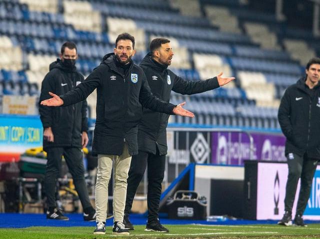 CHANGE: Huddersfield Town coach Carlos Corberam