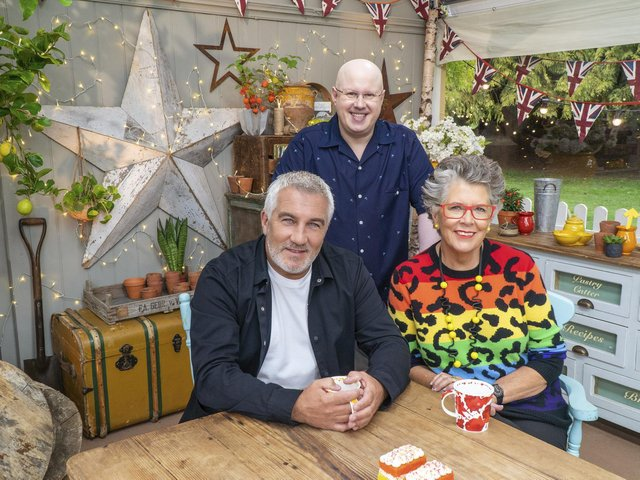 Paul Hollywood and Prue Leith are back in the Bake Off tent with Matt Lucas.