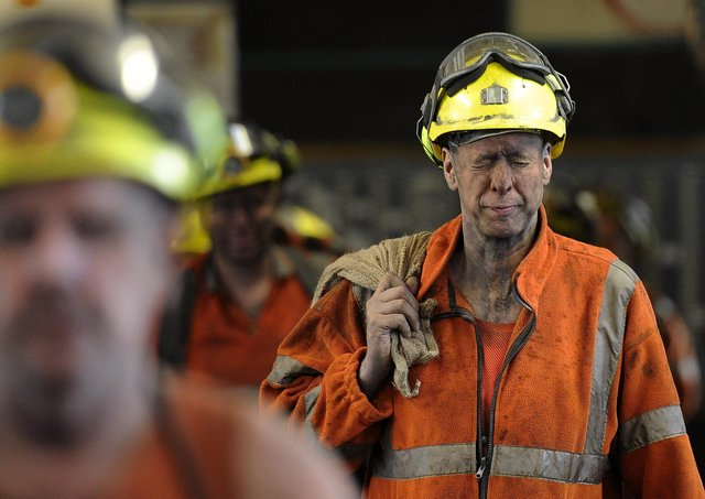 Boris Johnson has been accused of betraying former miners.