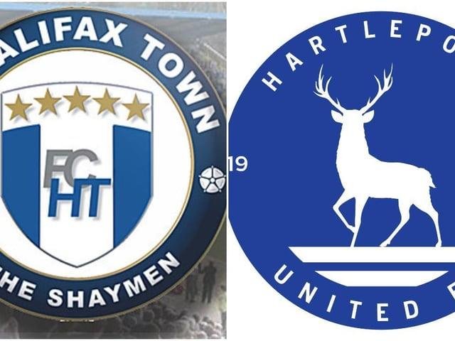 FC Halifax Town v Hartlepool