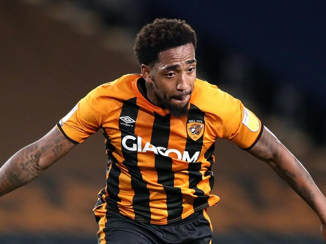 Mallik Wilks handed Hull City a half-time lead in Tuesday night's League Two clash with Rochdale. Picture: Getty Images