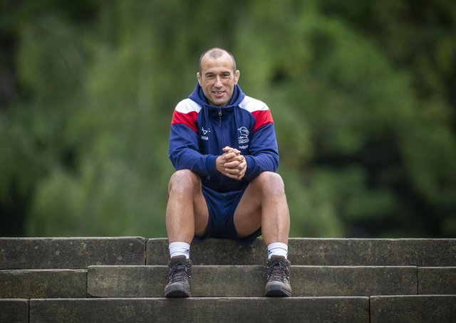 Doncaster Knights head coach Steve Boden. (Picture: Tony Johnson)