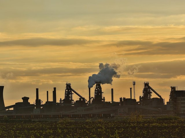 One of the beneficiaries will be British Steel at Scunthorpe Picture: Ross Parry/ SWNS Group