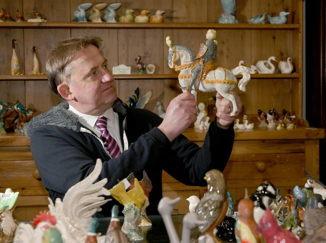 There are over 15,000 Beswick figurines to auction off