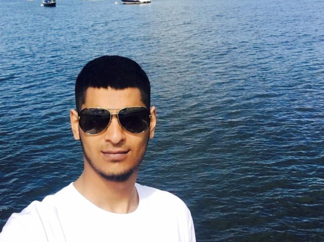 Crash victim Ali Ahmed