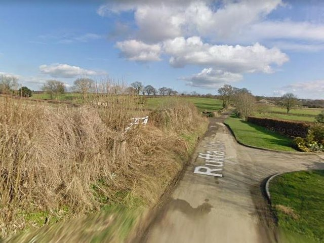 The incident took place on a country lane in Pickering