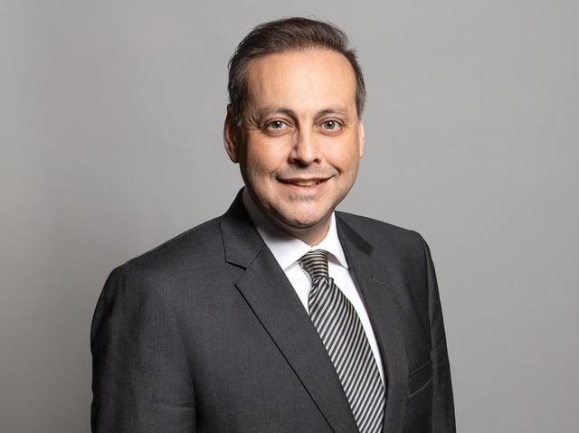 Wakefield MP Imran Ahmad Khan. Photo: UK Parliament