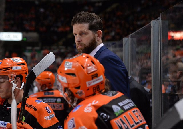EXCITED: Sheffield Steelers head coach Aaron Fox. Picture courtesy of Dean Woolley
