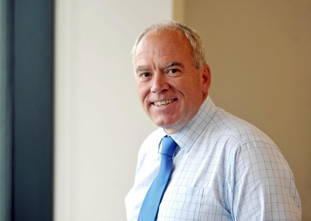 Bob Andrews, chief executive of Benenden Health. Picture Tony Johnson.