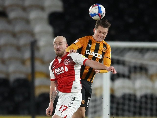 STAYING: Hull City defender Sean McLoughlin