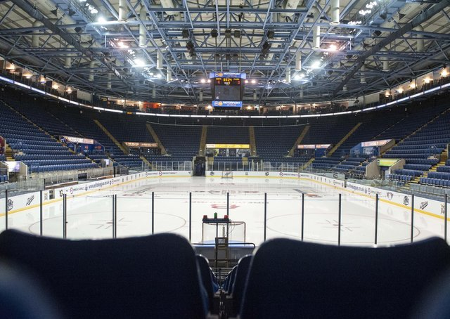 Four Elite League teams will contest the Elite Series behind-closed-doors at Nottingham's National Ice Centre next month. Picture courtesy of EIHL/Dave Williams