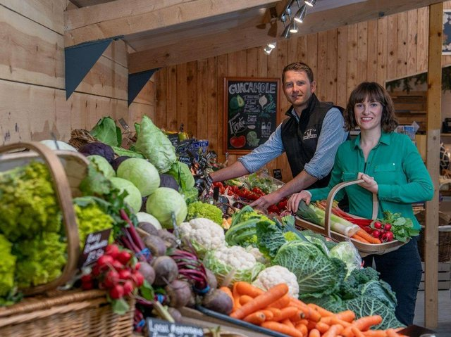 Minskip Farm Shop was named as Rising Star of the Year at the FRA Awards