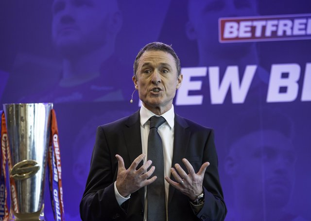 New challenge: Robert Elstone leaves his post as Executive Chairman of Superleague Europe today.  Picture by Allan McKenzie/SWpix.com