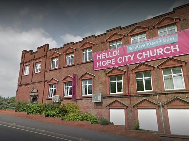 Hope City Church, which is based at Bernard Road in Sheffield, has published a report into allegations of a 'culture of racism'. Picture: Google Street View