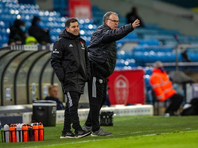 BOOST: Leeds United coach Marcelo Bielsa is hoping to see some of his injured players in under-23s action