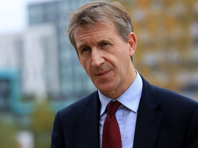 Pictured, the Mayor of the Sheffield City Region, Dan Jarvis, who is himself a former Army major. Photo credit: JPIMedia