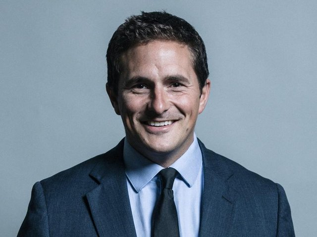 Pictured, Johnny Mercer, the Minister for Defence People and Veterans.