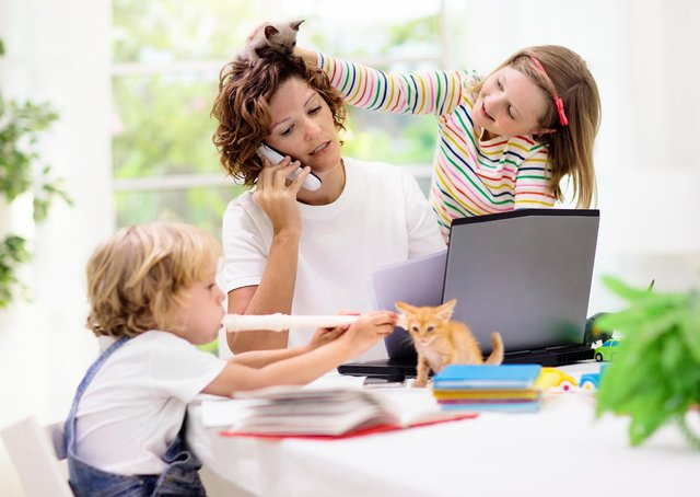 Home schooling has been a challenge for many families.