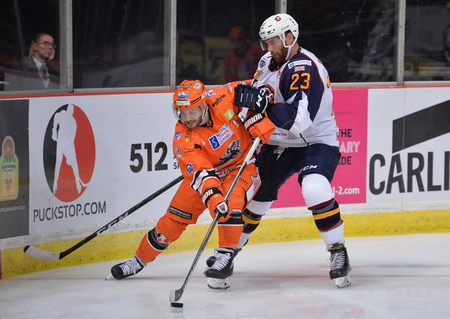 Robert Dowd hopes he may be able to play some part in Sheffield Steelers' Elite Series campaign, but he first has to help Italian club Eppan/Appiano in their playoff campaign. Picture: Dean Woolley.