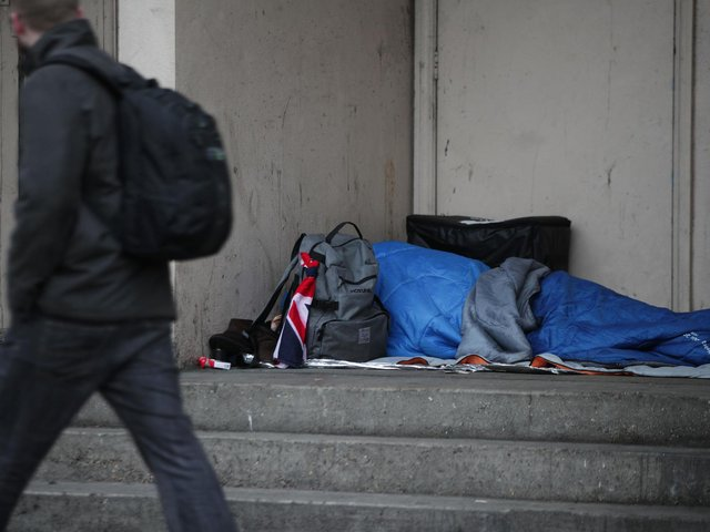 The lack of data held by the Ministry of Veteran's Affairs on homelessness or suicides amongst former military personnel has accentuated concerns that support is not being targeted at those most at risk. Photo credit: PA