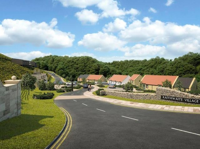 Luxury living: Raithwaite Village will provide an opportunity to live close to North Yorkshire's beautiful and dramatic coastline