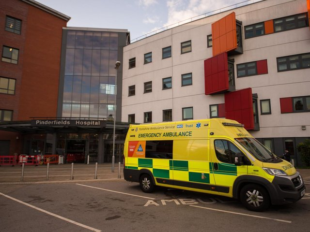10 new coronavirus deaths were recorded at Mid Yorkshire Hospitals NHS Trust (Photo: SWNS)
