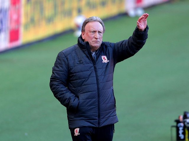 MANAGER: Neil Warnock. Picture: PA Wire.