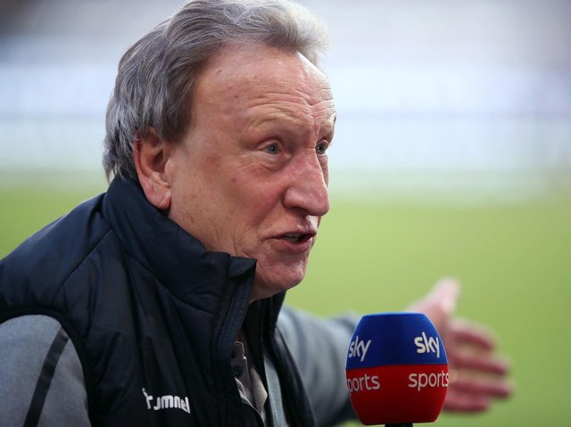 FRUSTRATED: Middlesbrough manager Neil Warnock. Picture: PA Wire.