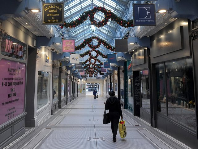 Lockdowns have impacted the retail sector.