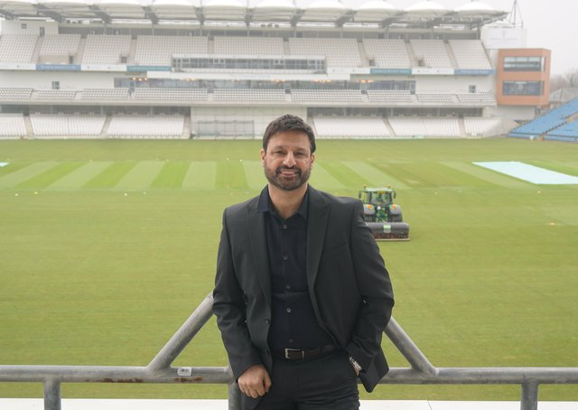 NEW ROLE: Mahboob Hussain has been appointed by Yorkshire CCC as their diversity manager.