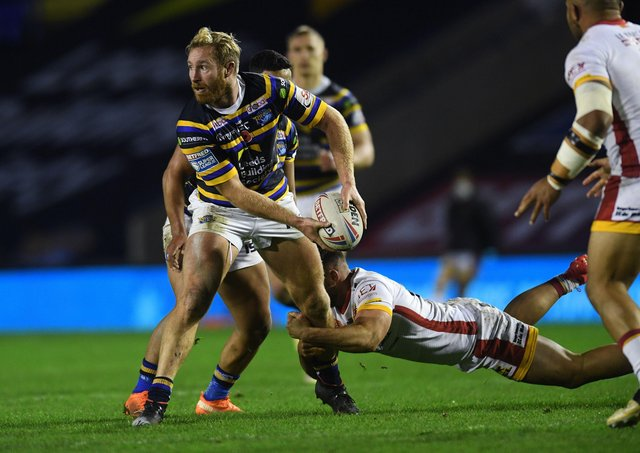 Playing on: Player of the year Matt Prior has returned to Leeds Rhinos. Picture : Jonathan Gawthorpe