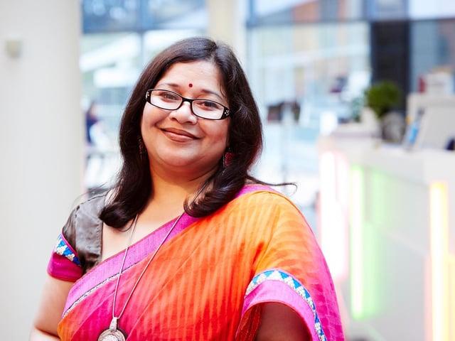 Dr Meenakshi Sarkar of Leeds University Business School
