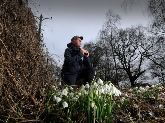 Richard Baines, ecologist and wildlife guide with Yorkshire Coast Nature