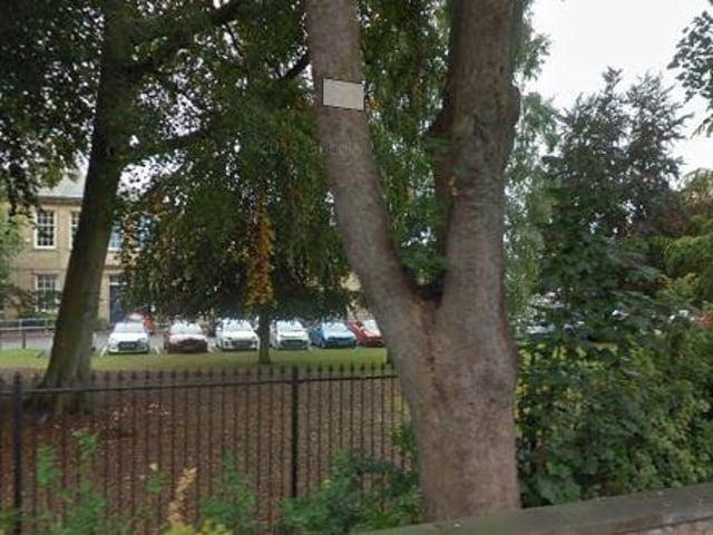 Selby High School on Leeds Road.