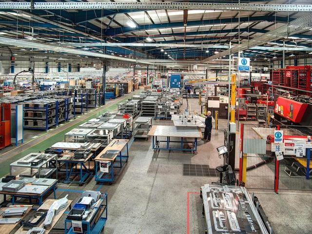 Merrychef's Sheffield plant