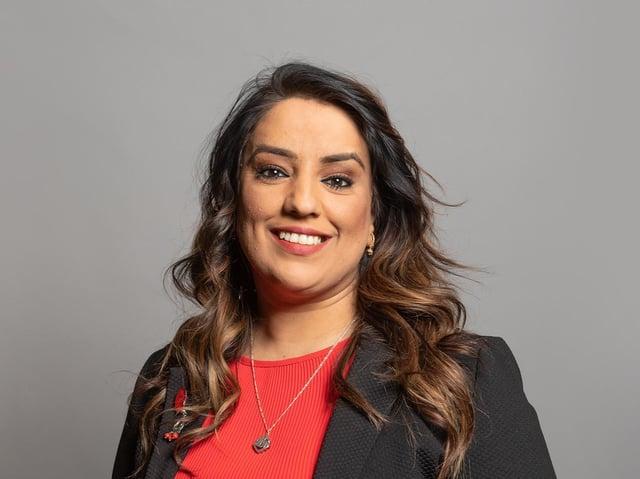 Bradford West MP Naz Shah. Photo: UK Parliament