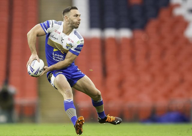Recovered: Leeds Rhinos captain Luke Gale. Picture by Allan McKenzie/SWpix.com