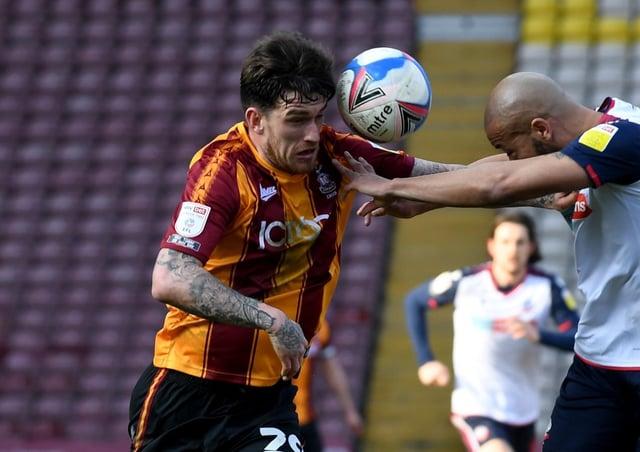 Bradford's Andy Cook. Picture: Simon Hulme