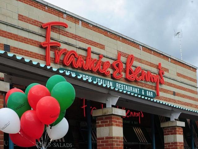 A Frankie & Benny's restaurant.