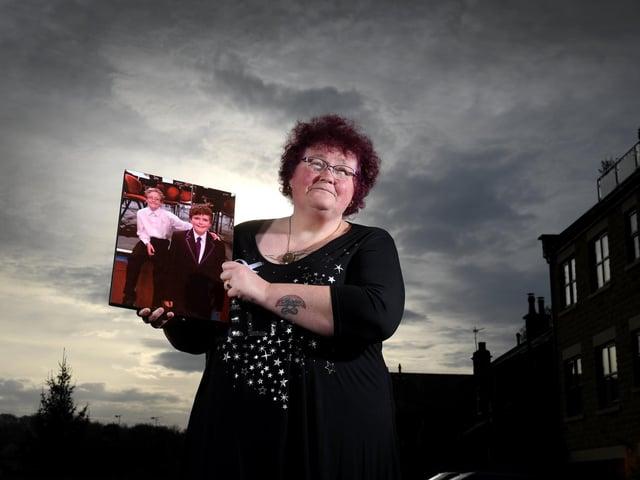 Anti-domestic abuse campaign Claire Throssell